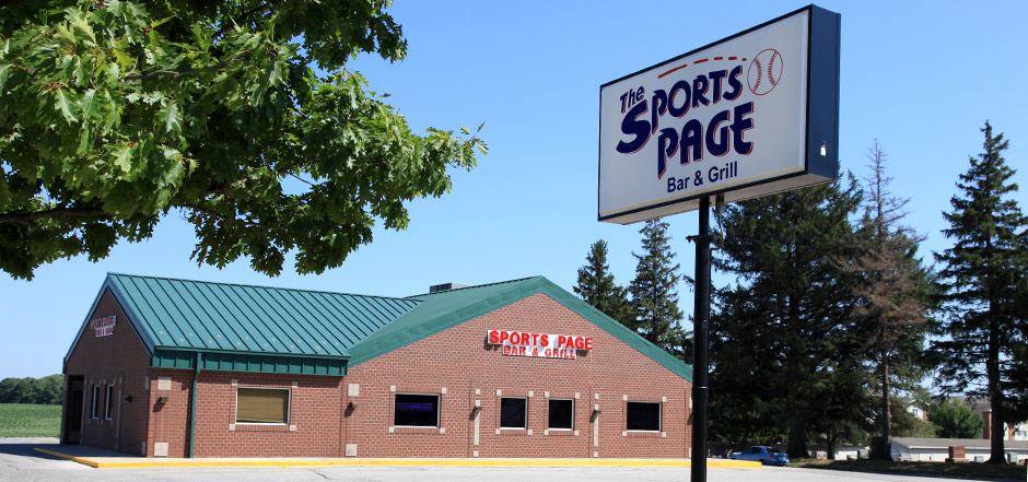 Sports Page Grill & Bar